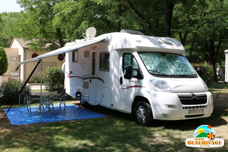 emplacements locatifs camping cars