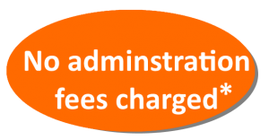 no admnistration fees